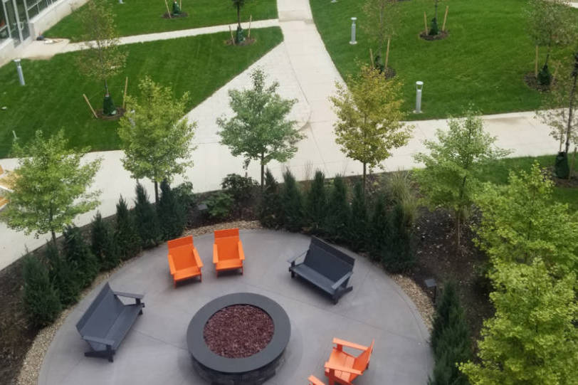 Centric LEED certification Courtyard2